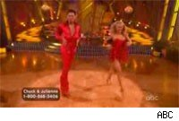 Chuck and Julianne plagiarize their samba