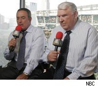 John Madden and Al Michaels