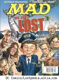Mad Magazine's Lost parody