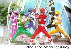 The original Mighty Morphin Power Rangers