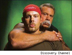 Paulie and Paul Teutul from American Chopper