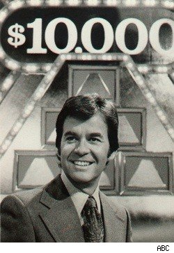 Dick Clark, host of The $100,000 Pyramid