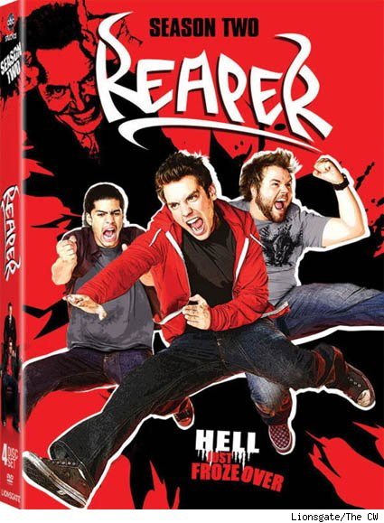 Reaper Season Two DVD Cover