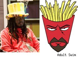 T-Pain as Frylock