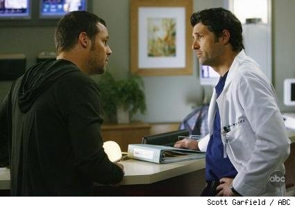 Justin Chambers and Patrick Dempsey