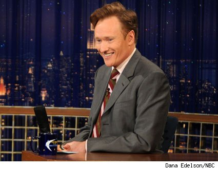 Tonight Show host Conan O'Brien