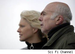 battlestar galactica michael hogan, tricia helfer, warehouse 13