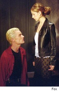 Buffy and Spike - Sarah Michelle Ge