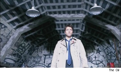 Misha Collins as Castiel on 