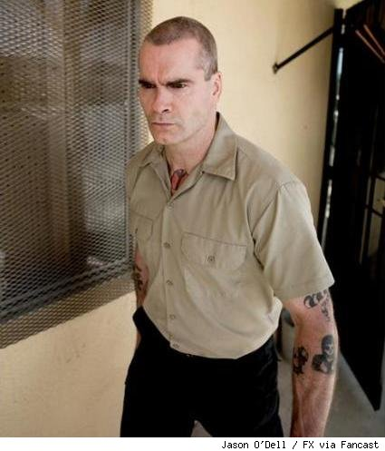 Henry Rollins as AJ Weston on Sons of Anarchy.