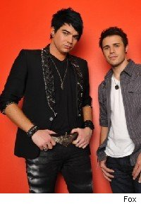 Kris and Adam American Idol