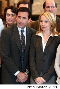 Steve Carell and Amy Ryan