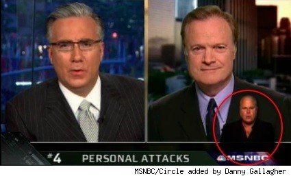 Keith Olbermann and analyst Lawrence O'Donnell on