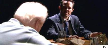 Charles Durning and Dean Winters
