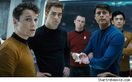 The cast of J.J. Abrams' Star Trek