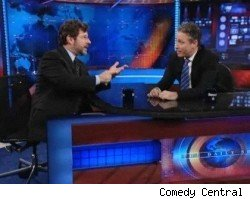 Jon Stewart amd Cliff May