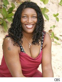 Former pop star Taj George on Survivor: Tocantins