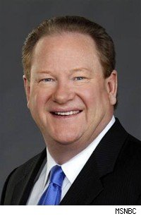 Ed Schultz shouts his way through his show on MSNBC.