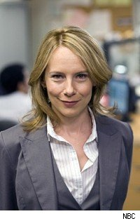 Amy Ryan as Holly Flax on The Office