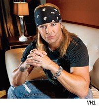 Bret Michaels was hit in the face with stage scenery at Sunday's Tony Awards.