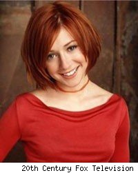 willow buffy alyson hannigan