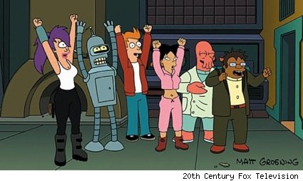 Futurama returning to Comedy Central with all new episodes
