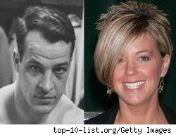 Gordie Howe and Kate Gosselin - see the resemblance?