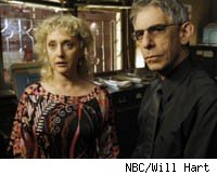 Carol Kane and Richard Belzer on Law &amp; Order: SVU
