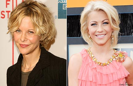 Meg Ryan and Julianne Hough