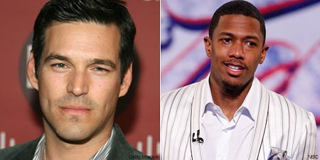 Eddie Cibrian and Nick Cannon