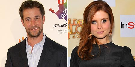Noah Wyle and Joanna Garcia