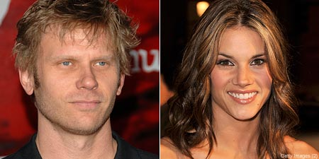 Mark Pellegrino and Missy Peregrym
