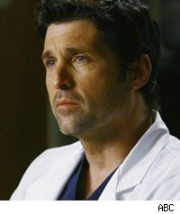 Patrick Dempsey as Derek Shepherd on Grey's Anatomy