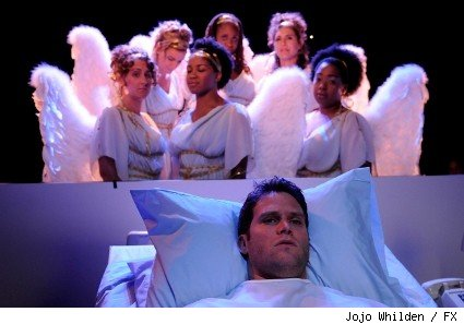 Steven Pasquale as Sean Garrity on 'Rescue Me.'