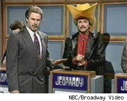 Will Ferrell and Norm MacDonald as Alex Trebek and Burt Reynolds on Celebrity Jeopardy!