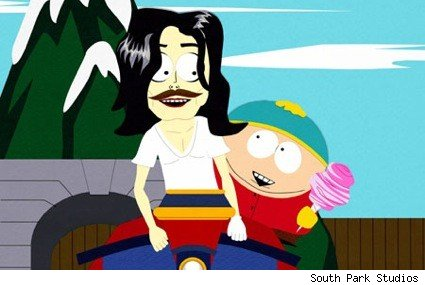 South Park poking fun of Michael Jackson