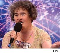Susan Boyle is hospitalzed following her loss on Britain's Got Talent.
