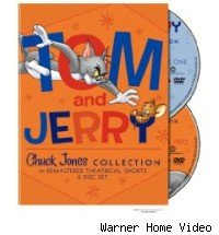 Tom and Jerry dvds