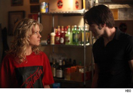 Anna Paquin and Stephen Moyer in True Blood - Scratches