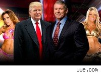 Donald Trump WWE Monday Night Raw