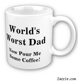 World's Worst Dad mug