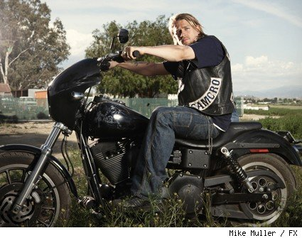 Charlie Hunnam as Jackson 'Jax' Teller on FX's 'Sons of Anarchy.'