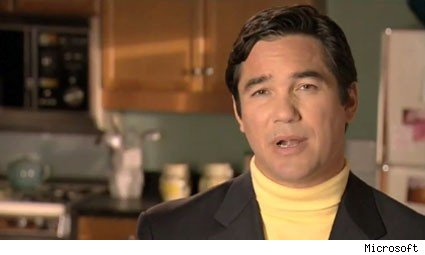 microsoft exporer 8 ads dean cain