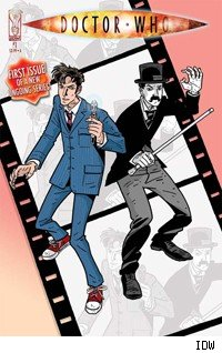 Dsvid Tennant's Doctor returns in IDW's Doctor Who.