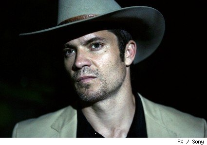 Timothy Olyphnat stars as Raylan Givens in 'Lawman.'