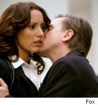 Jennifer Beals and Tim Roth in Lie to Me