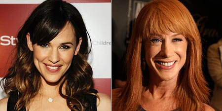 Jennifer Garner and Kathy Griffin