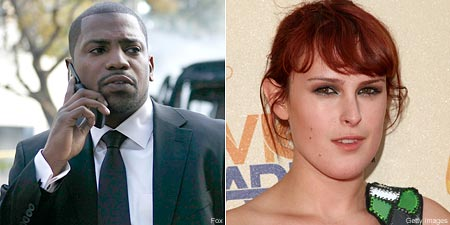 Mekhi Phifer and Rumer Willis