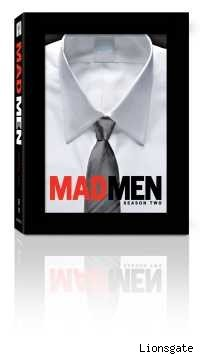 Mad Men Season Two DVD cover