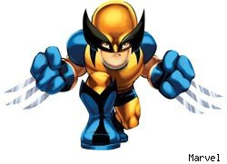 wolverine marvel super hero squad